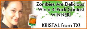 Zombie Blood Contest Winner